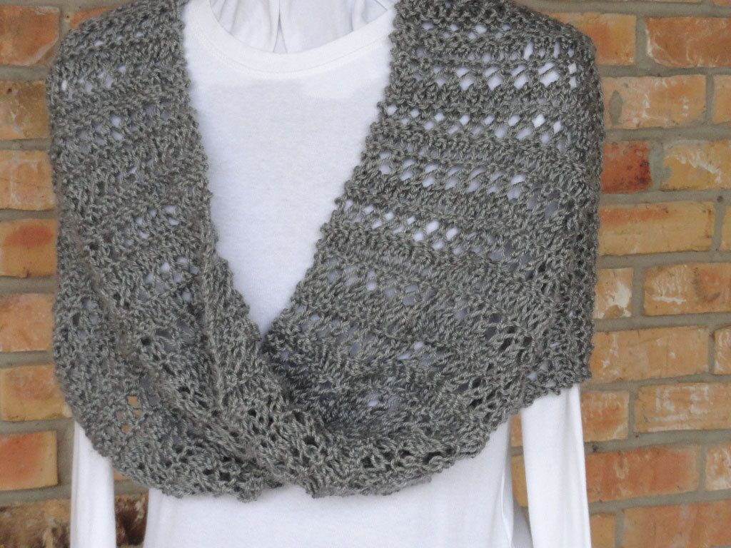 Knitting pattern lace stripe mobius cowl or by kimberleeskorner knit cowl patterns lace stripe mobius knit wrap by kimberlees korner bankloansurffo Gallery
