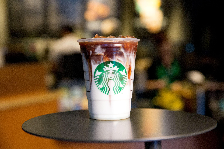 Iced Coconut Milk Mocha Macchiato New Starbucks Drink