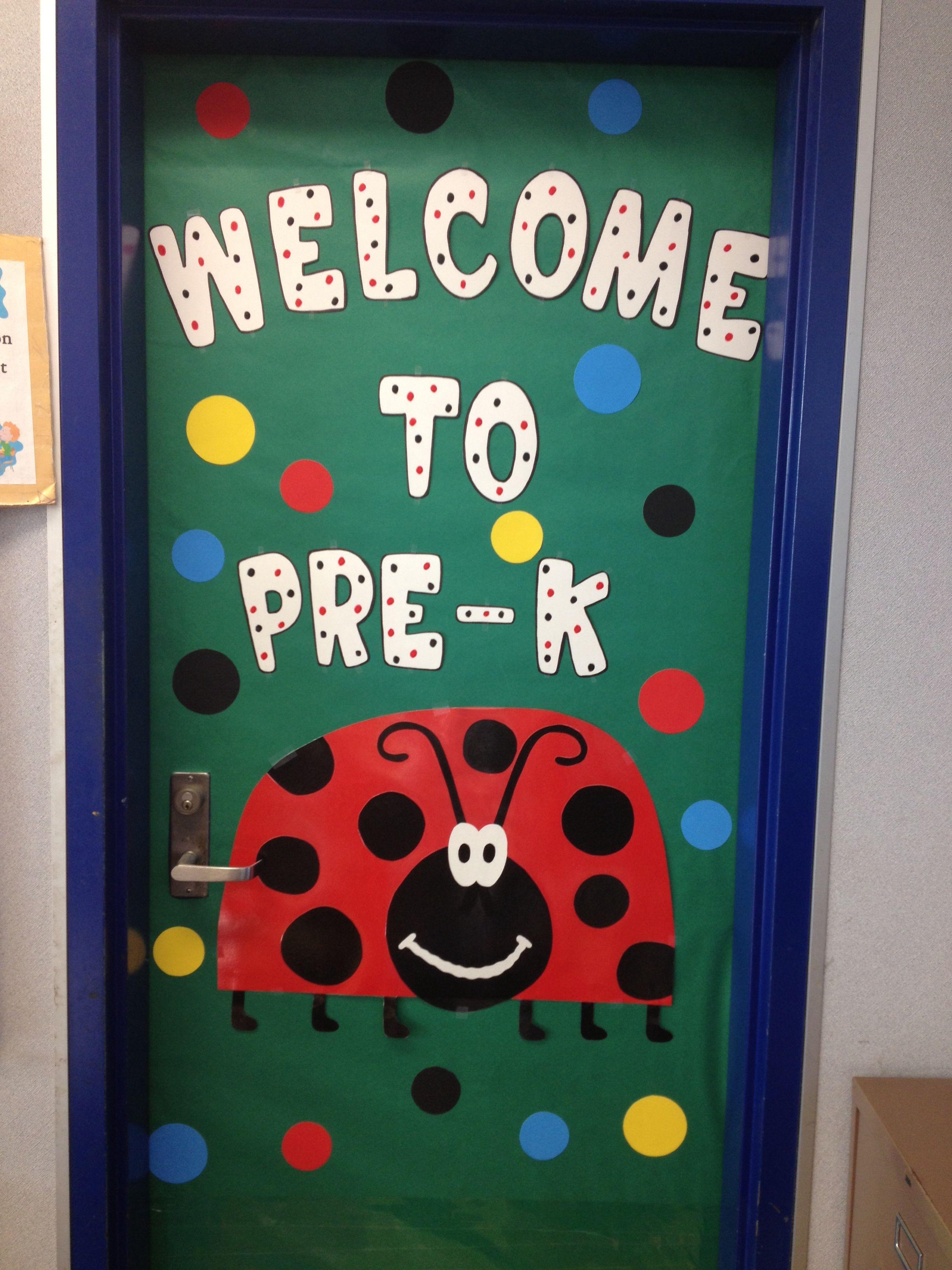 Welcome door decoration