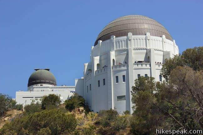 Griffith Observatory Via West Observatory Trail In Griffith Park Griffith Observatory Griffith Park Observatory
