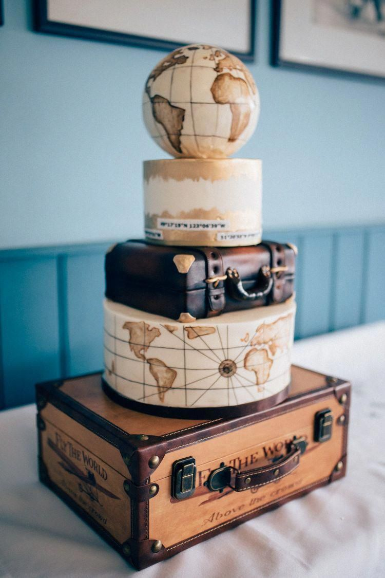 Travel Aircraft Museum Wedding On Concorde Cakedecoratingideas Travel Cake Travel Wedding Cake Themed Wedding Cakes
