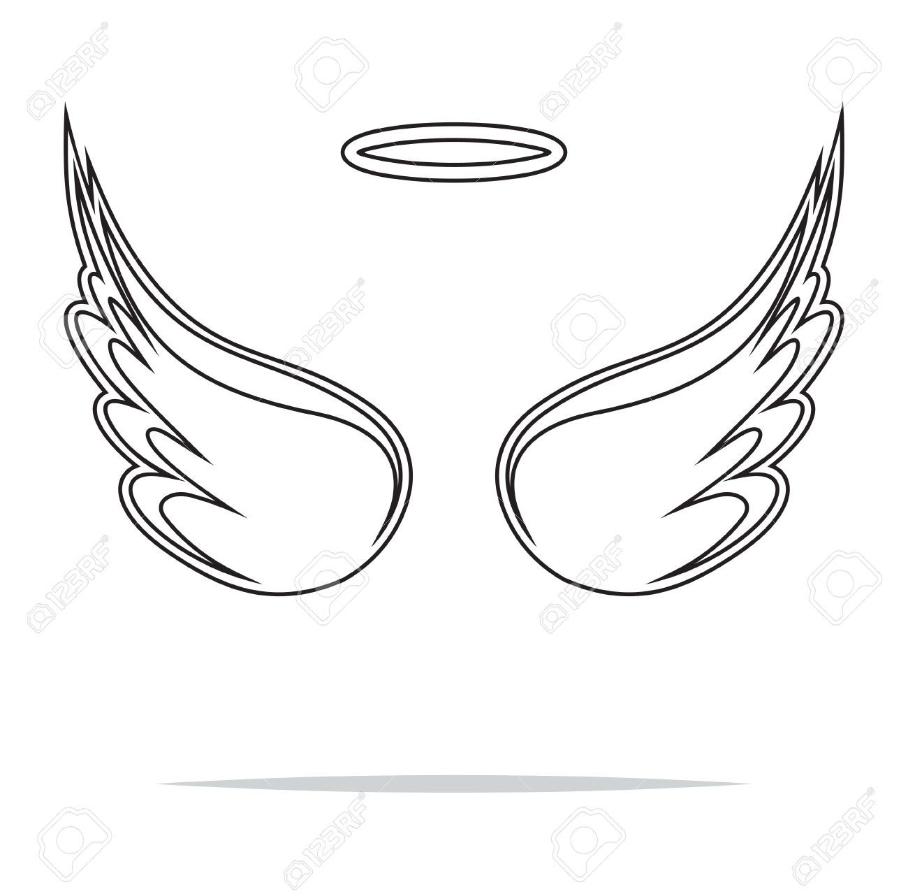 25+ Angel wing clipart free info