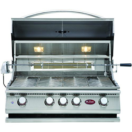 Cheap Cal Flame BBQ13P04 4 Burner Built In Grill No Conversion Kit