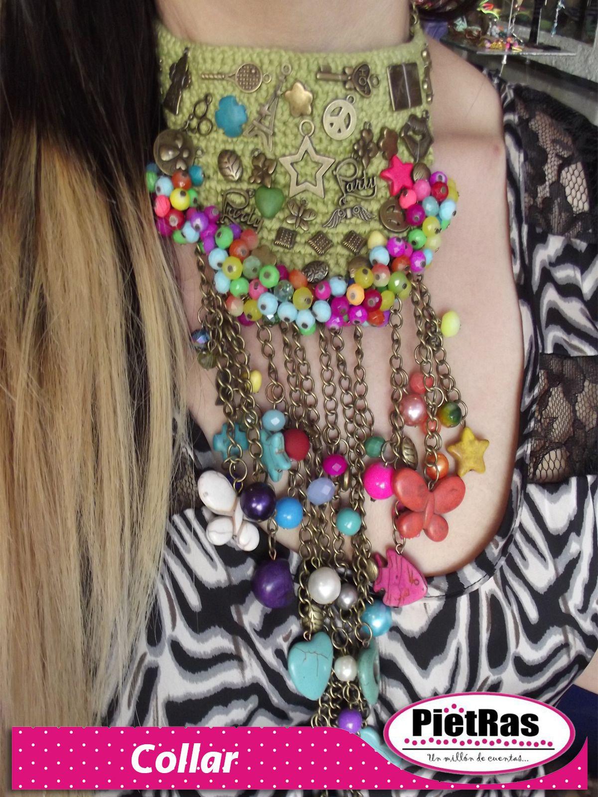¿Qué tal un lindo collar playero? ideal para estas próximas vacaciones....