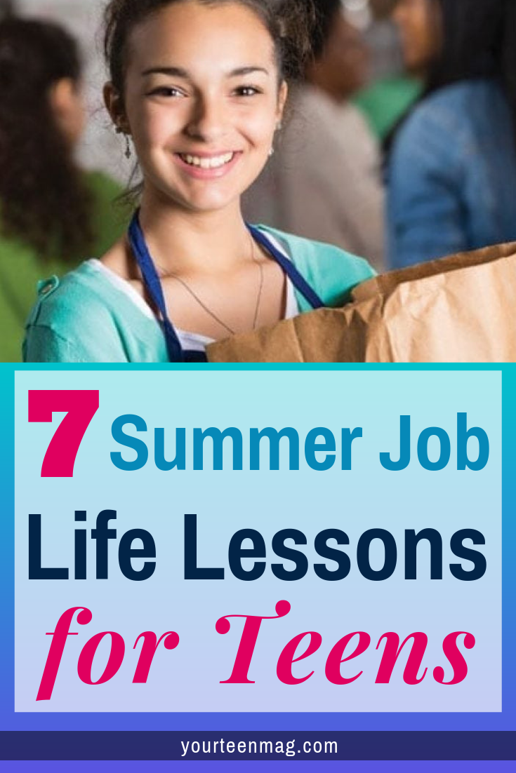 Summer Jobs for Teens: 7 Life Lessons They Learn