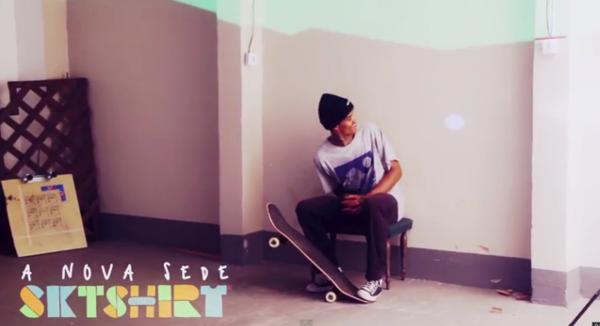 A nova sede SKT SHIRT - Clube do skate