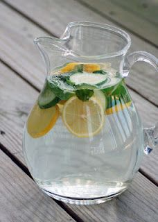 Essential oils drink.  Site has lots of great ideas for  essential oils