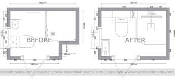 Small Shower Room Plans Google Search