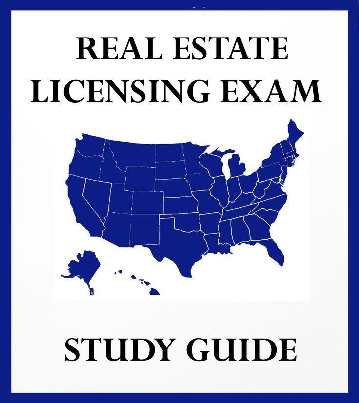 real estate exam study guide pdf