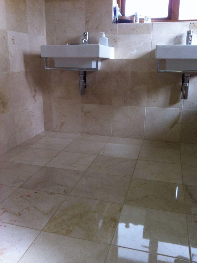 Marble Limestone Travertine Floor Cleaner Restoration Surrey East