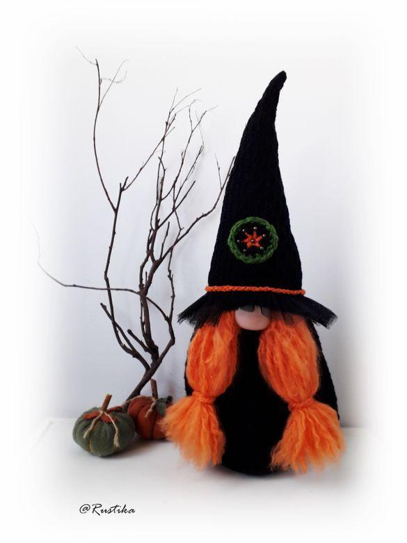 Witch Gnome/Gnom Vrajitoare -Amber   Breslo