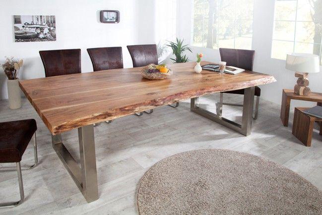 pin von silvie auf inneneinrichtung | pinterest | baumstamm tisch ... - Massivholzmobel Ideen Esstisch Baumstamm