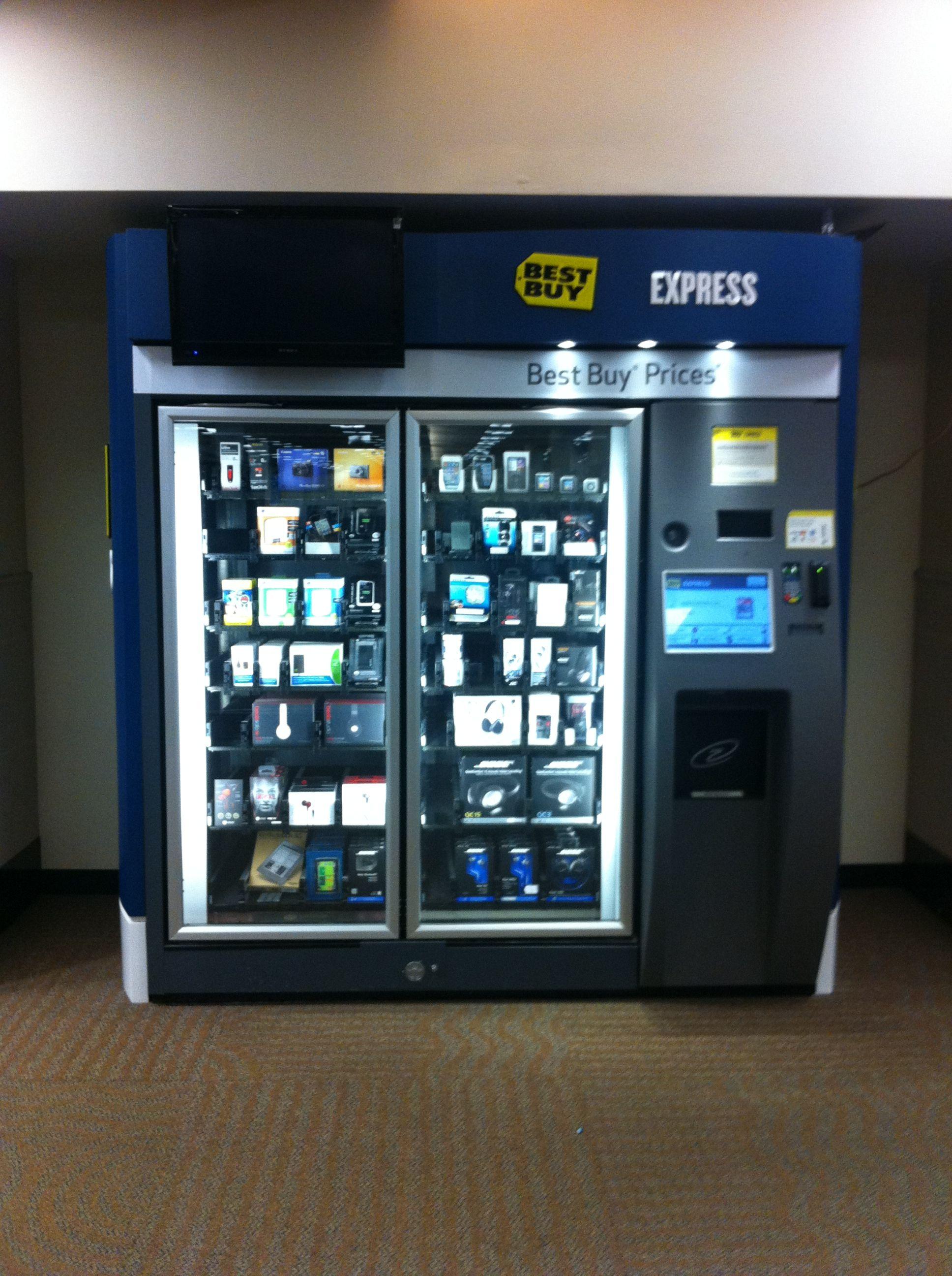Best Buy Tech Vending Machine Minneapolis Airport Cool Things To Buy Vending Machine Stuff To Buy