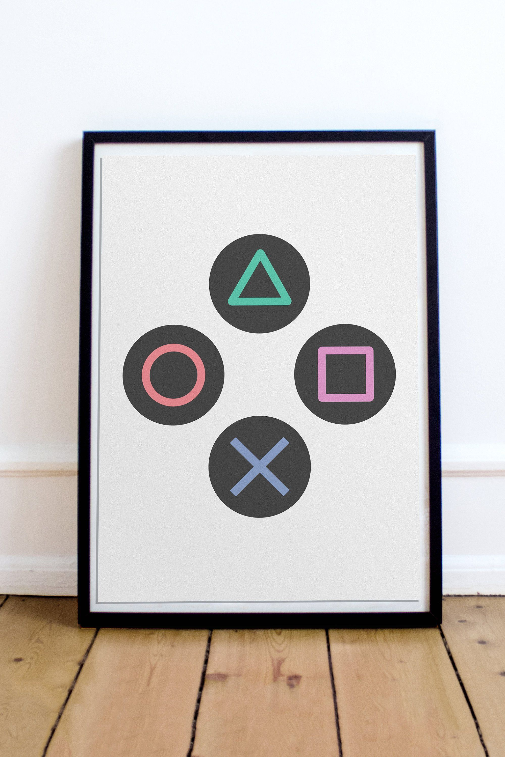 Video Game Decor Gaming Poster Game Room Wall Art Man Cave Etsy Gaming Wall Art Video Game Wall Art Gamer Room Decor