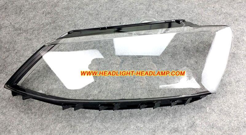 2017 Vw Volkswagen Jetta Mk6 Original Factory Oem Headlight Lens Cover Plastic Lenses Gles