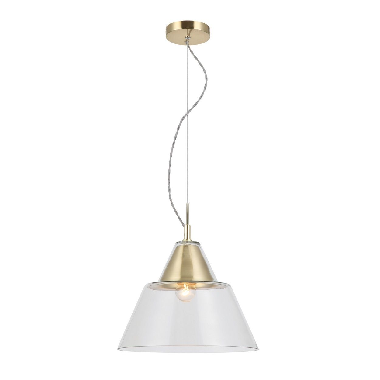 Simple And Elegant, This Ceiling Light Will Bring A Modern