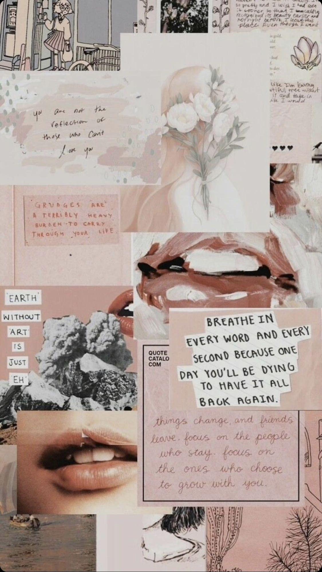 Lockscreen Fotografi Abstrak Seni Kolase Objek Gambar