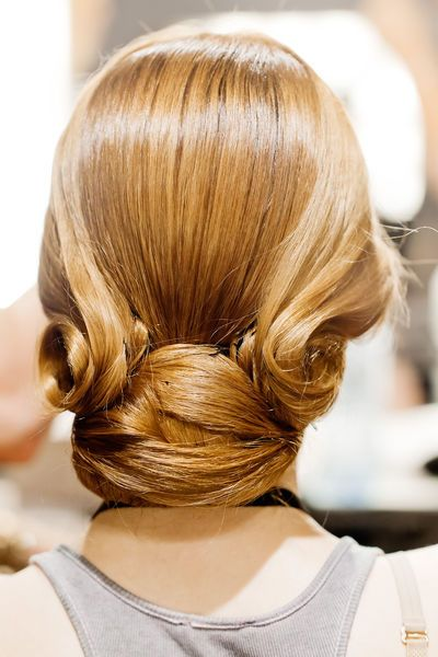 Berlin Fashion Week Juli 2012: Eleganter Chignon - GLAMOUR