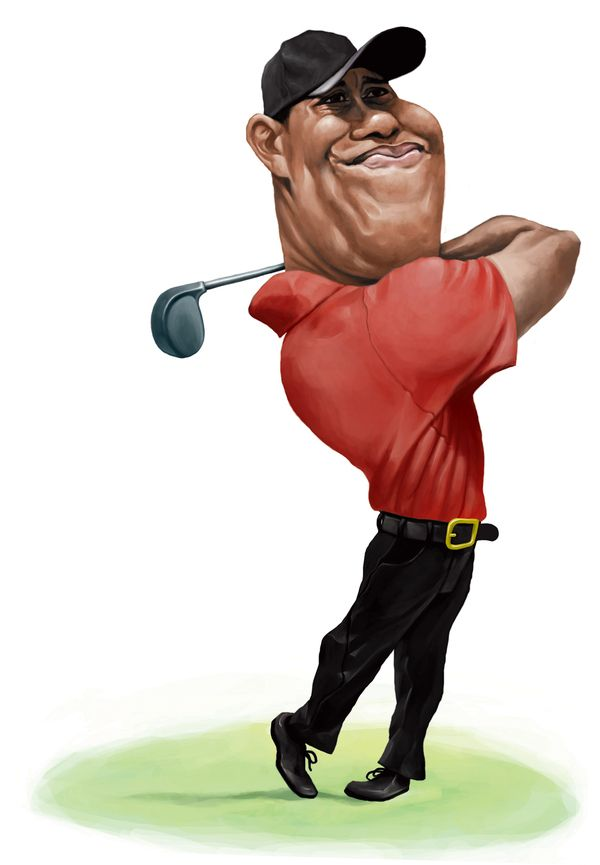 Tiger Woods | Golf | Pinterest | Caricaturas, Tiger woods y ...