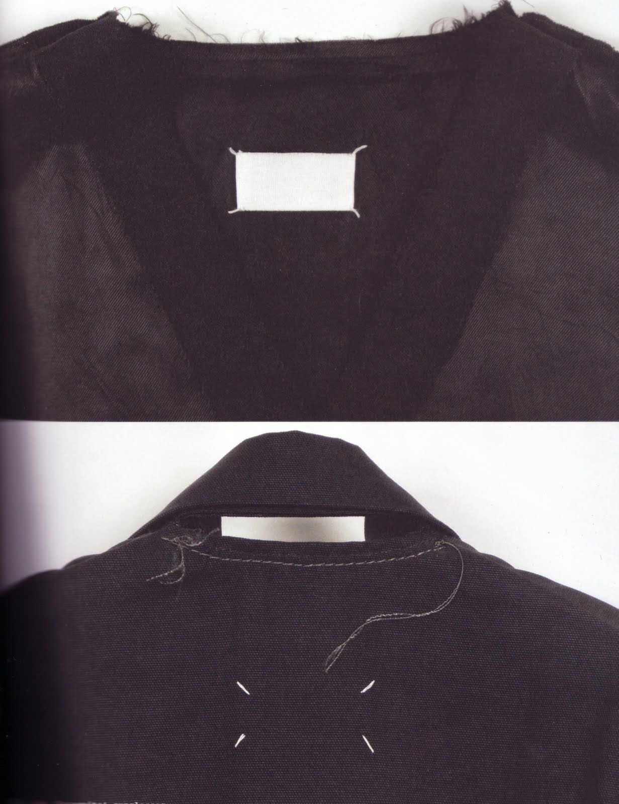 2a26dc6d27f Original plain blank Maison Martin Margiela label