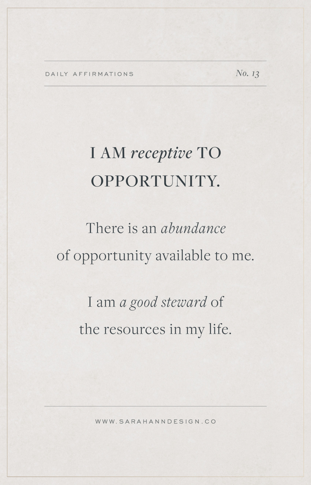 Affirmations for Creatives // 23 Daily Affirmations for Creative Inspiration