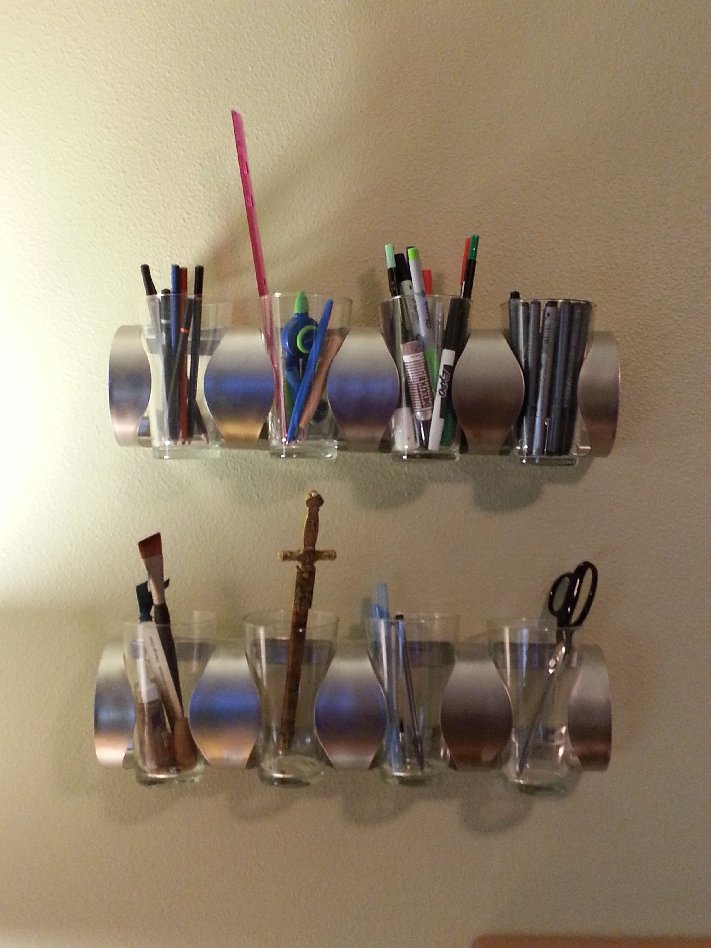 ikea wine bottle holder pint glasses extra wall