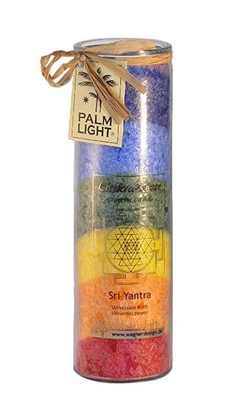 Palm Light Chakra Kerze Bunt Chakra Kerzen Und Selbstfindung