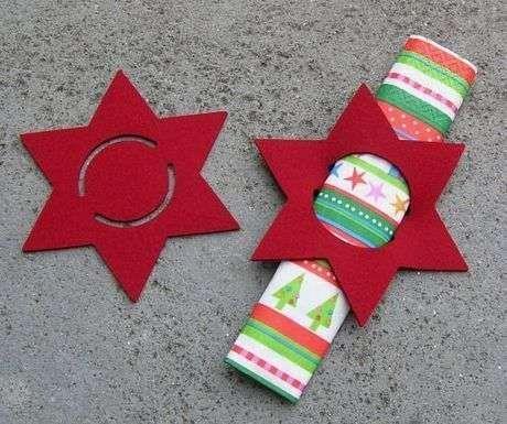 decorar tu mesa en navidad de forma original econmica y til es fcil con esta idea de en forma de estrella