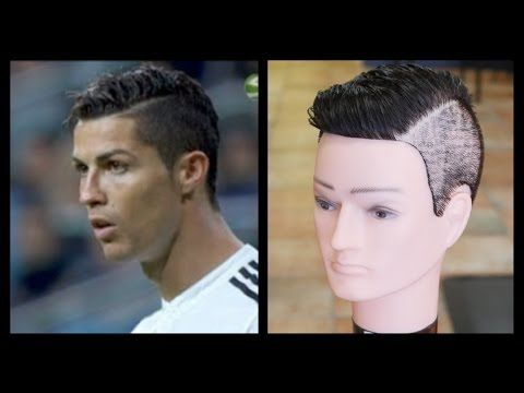 cristiano ronaldo updated haircut tutorial thesalonguy