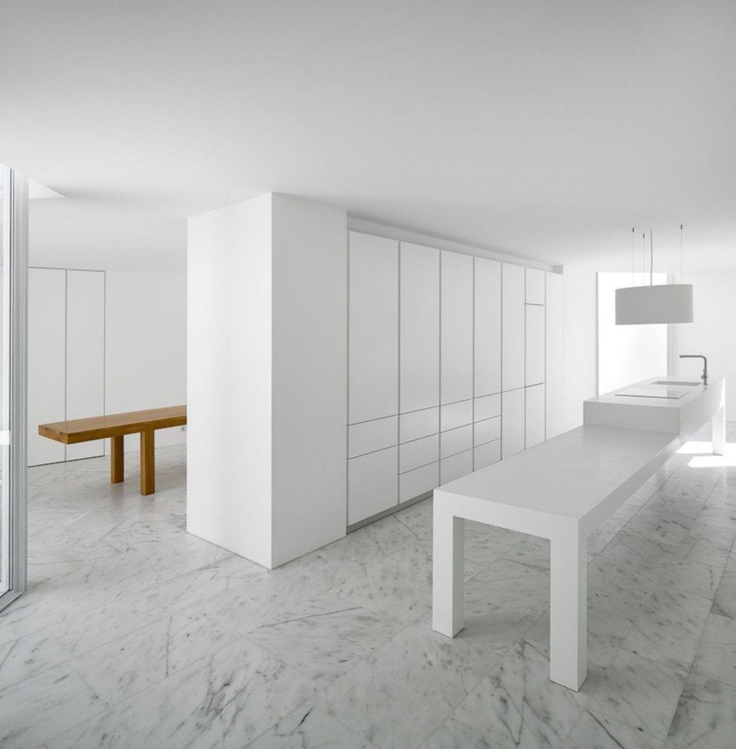 Aires Mateus definiert ein Haus in Portugal mit White (4) | Aires ...