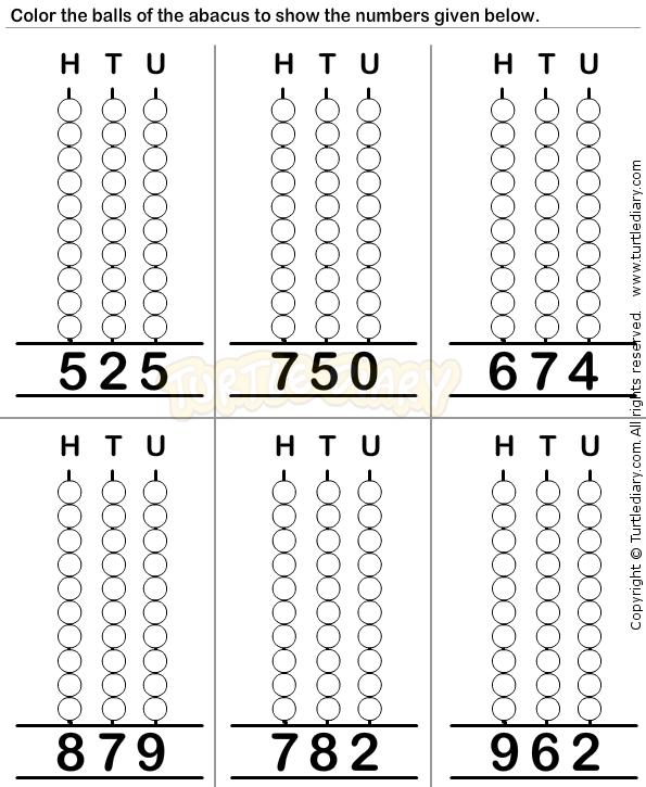 Abacus10 - math Worksheets - preschool Worksheets | Educational ...