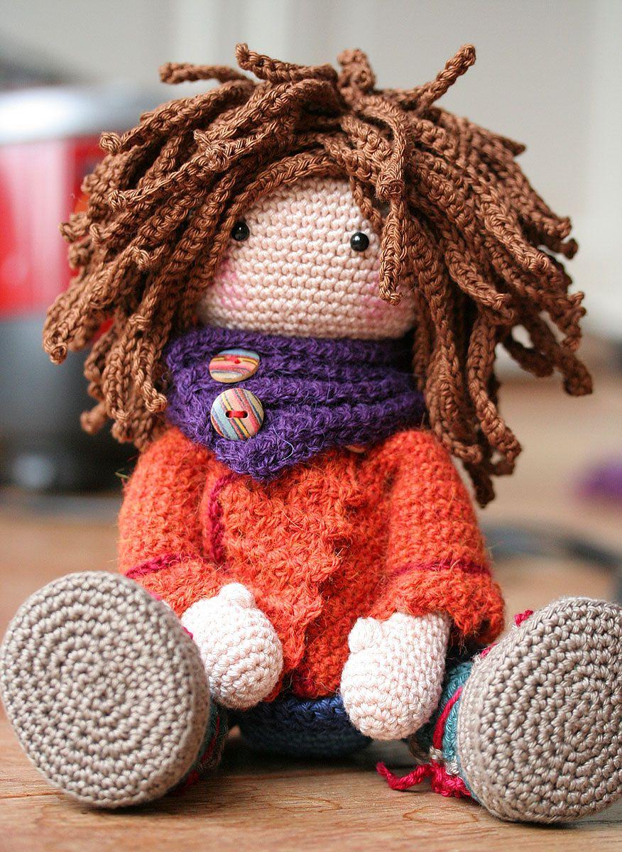 Doll Monja pattern by CAROcreated design | Muñecas, Patrones ...