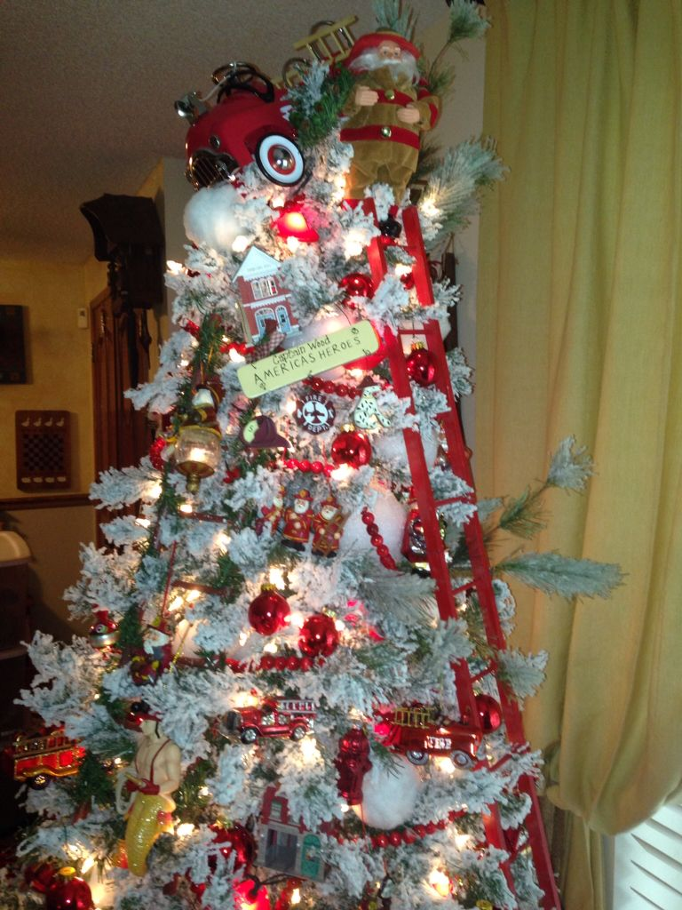 Fireman tree for my firemen. | Christmas | Pinterest | Christmas ...