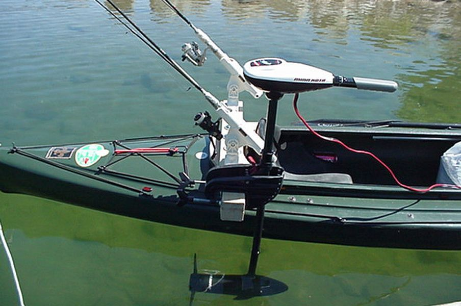 Mounting a trolling motor on a kayak google search for Fishing boat motor