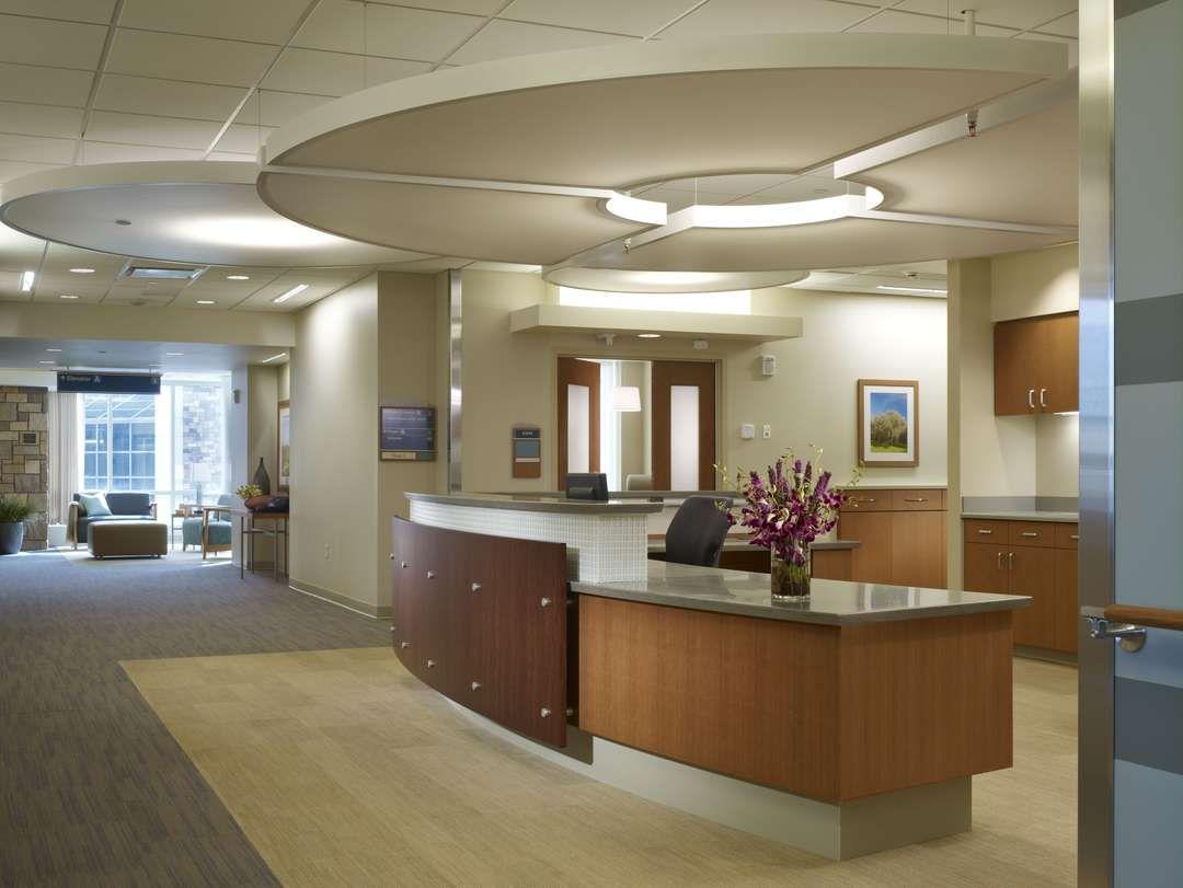 Nurse station healthcare interior design hospital