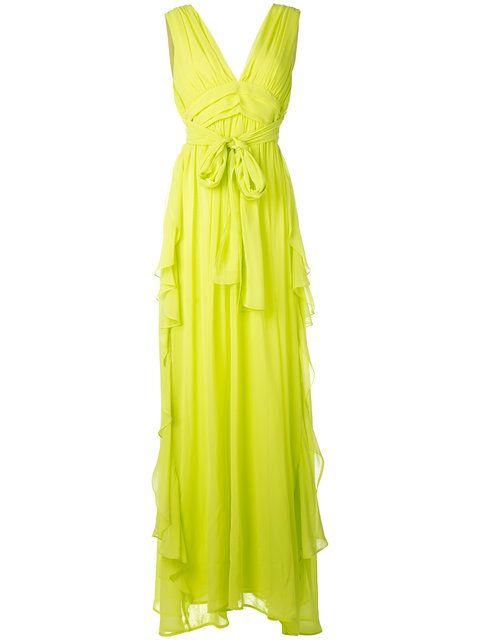 MSGM Long Length Empire Line Dress. #msgm #cloth #dress
