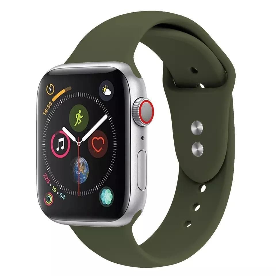 Olive Green Sport Bands for Apple watch series 2/3/4 42