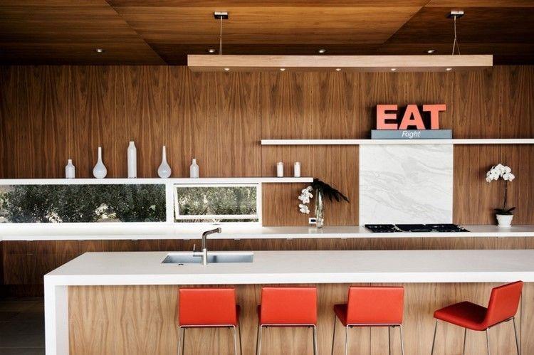 Paneles decorativos: 50 ideas para la pared de la cocina   SÓTANO ...