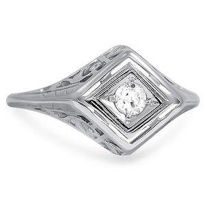 The Peta Ring #BrilliantEarth #Vintage