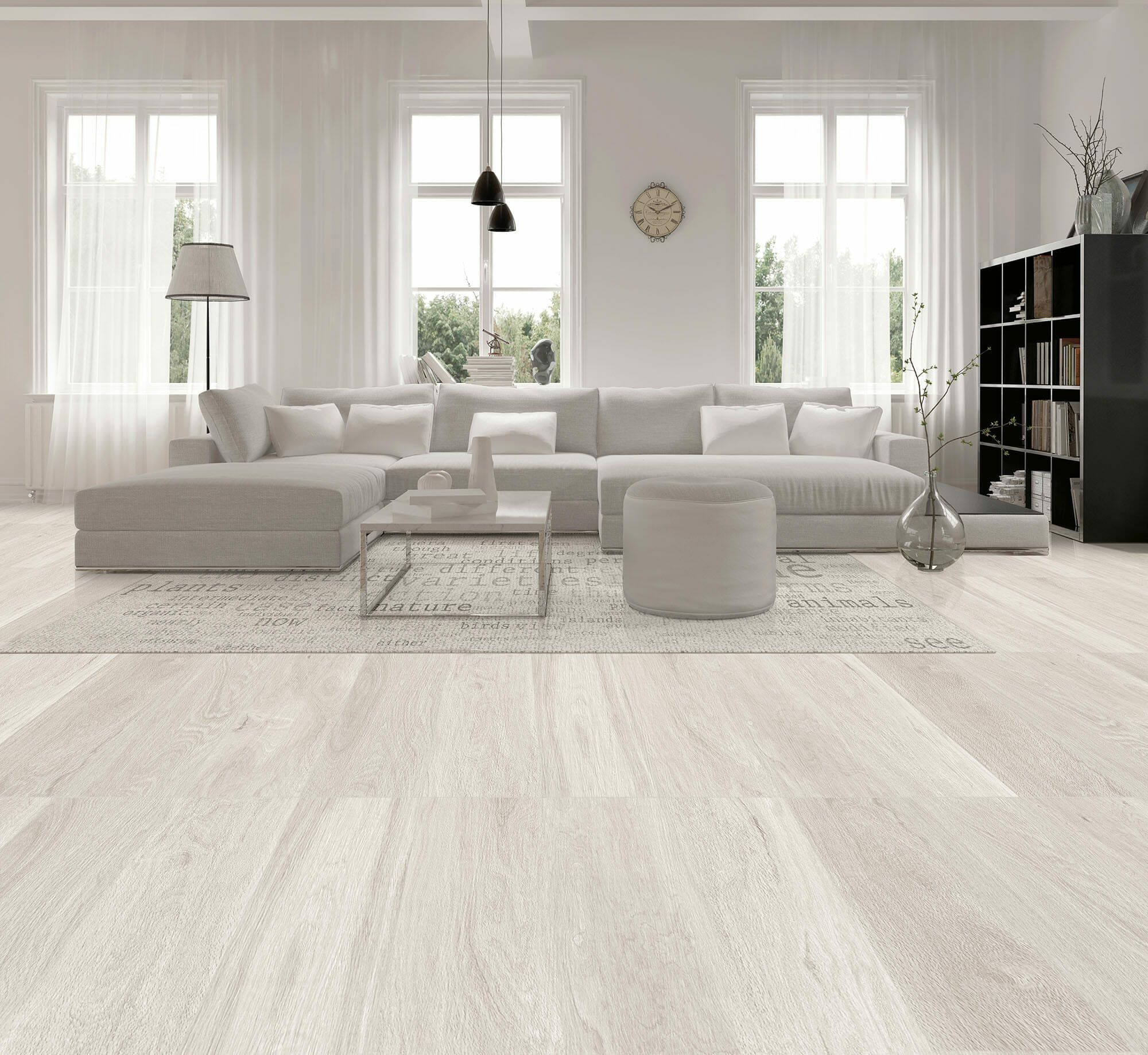 Kenia White Light Wood Look Tile 9x48 Tiles Stone Warehouse Living Room Tiles Tile Floor Living Room Living Room Wood Floor