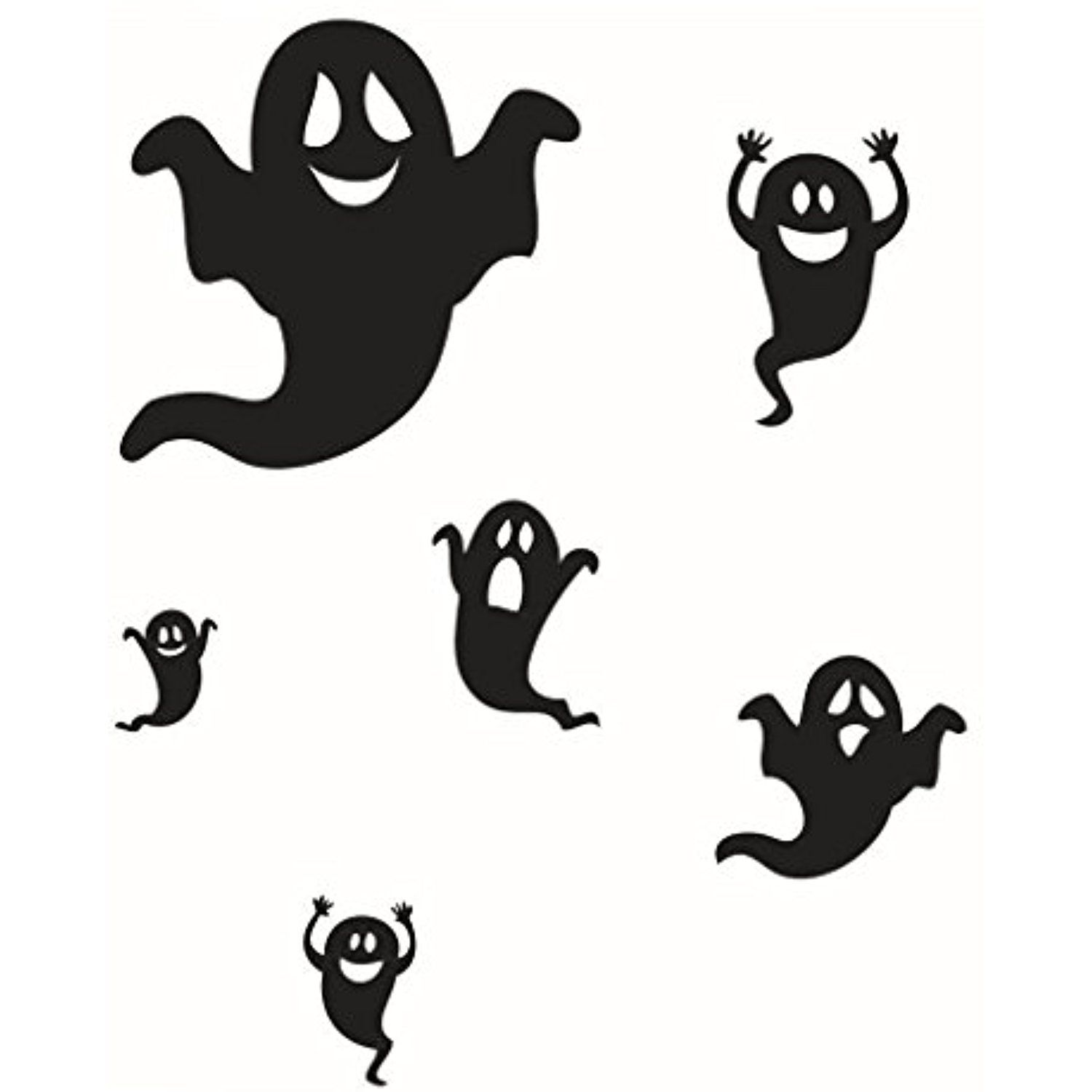 Besttopshop flying ghosts wall stickers x inches