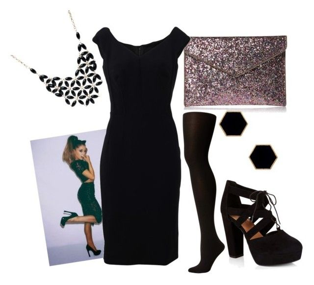 14++ Black dress with the tights underneathe information