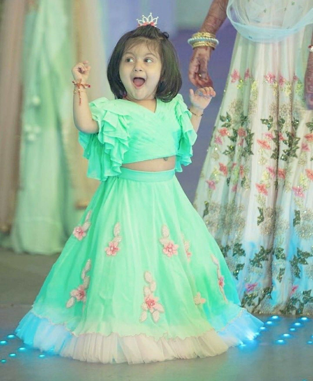 Pin by sirisha on Birthday photos Kids designer dresses