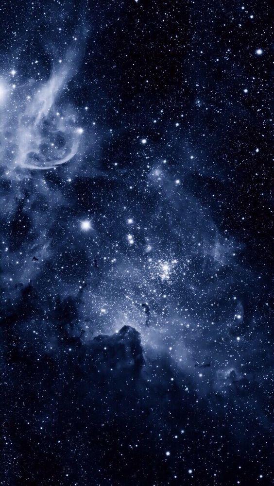 Blue Cosmos Wallpaper Nel 2019 Sfondi Per Telefono Spazio