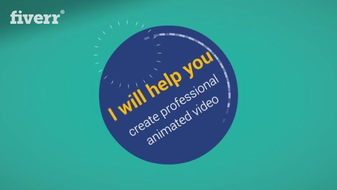 I Will Create An Animated Explainer Video With Voice Over To