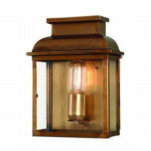 Elstead Old Bailey £230 100W Antique Brass Wall Lantern