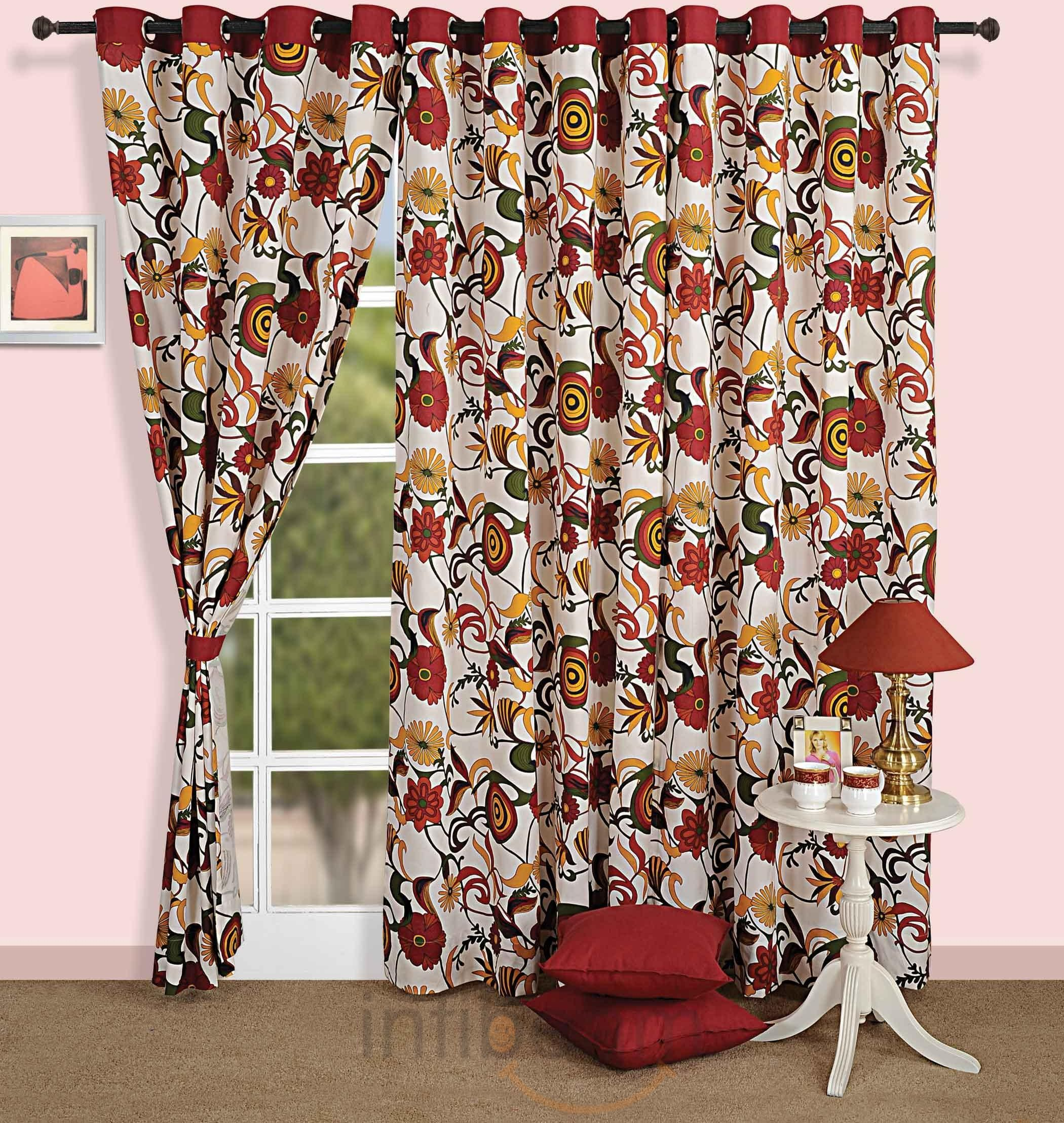 Curtains Are Items Of Fabric Proposed To Block Or Stop The L