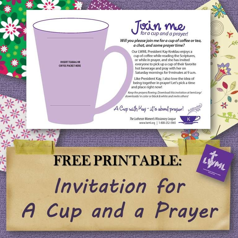 Download this invitation and ask someone to share a cup of coffee download this invitation and ask someone to share a cup of coffee and a prayer with stopboris Choice Image
