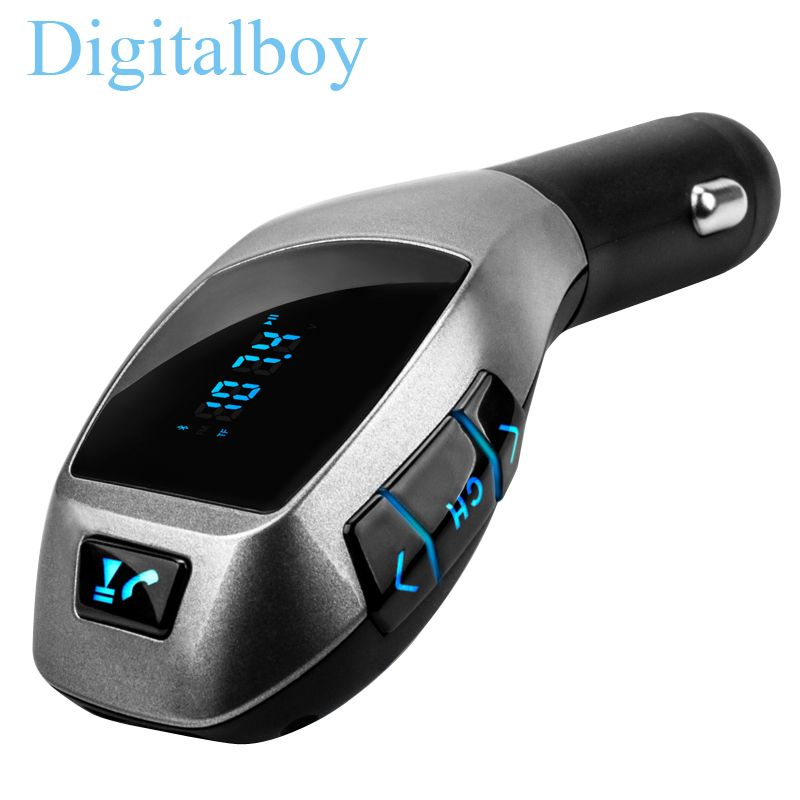 bluetooth car kit wireless fm transmitter radio adapter fm modulator handsfree music mp3 usb. Black Bedroom Furniture Sets. Home Design Ideas