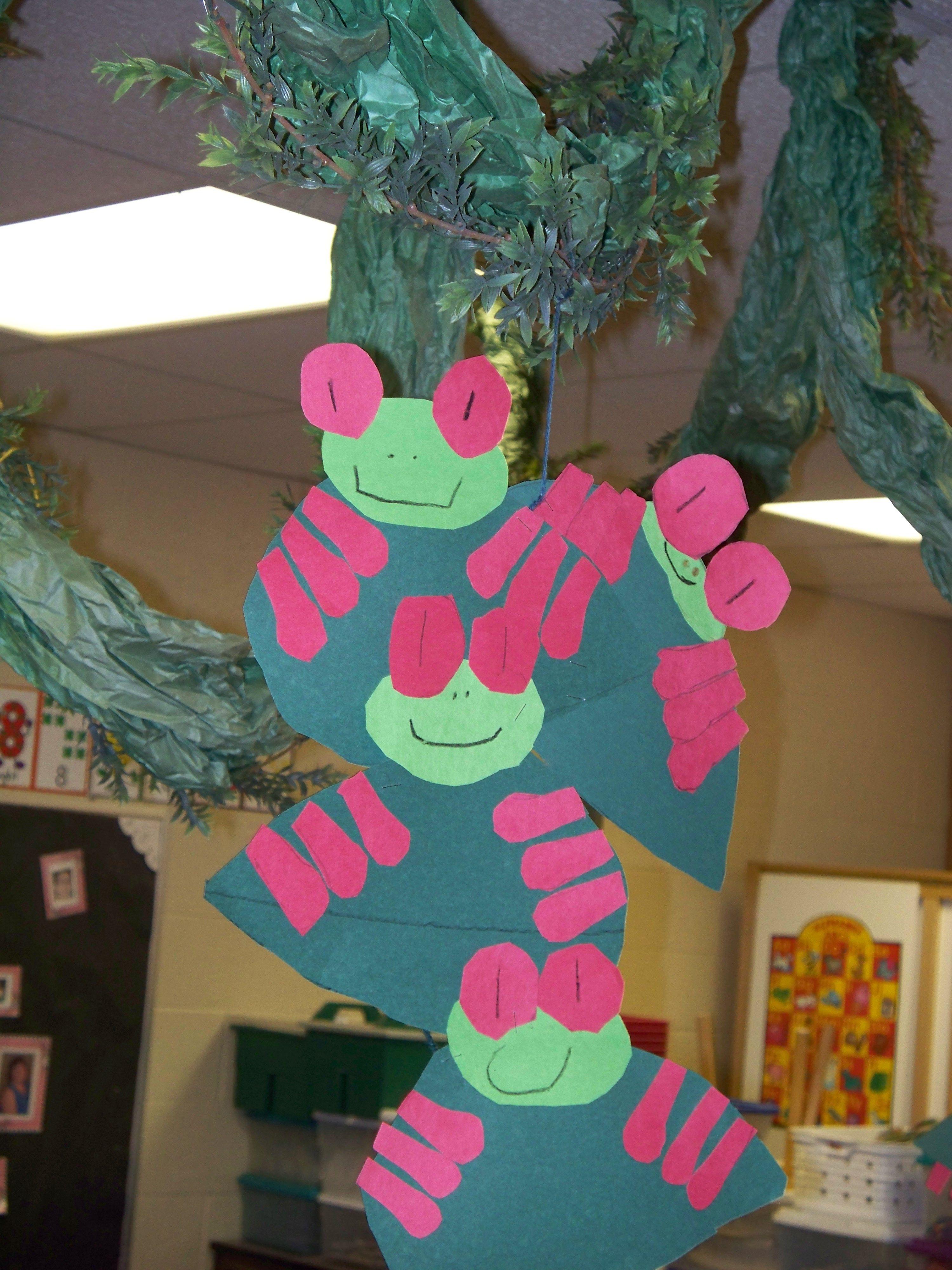 Photo Of Friend S Classroom Rainforest